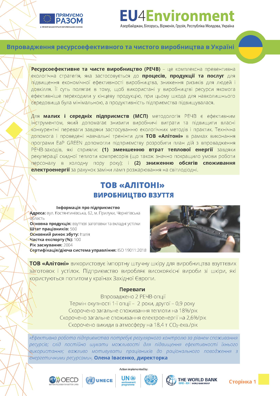ALITONI LLC -ua